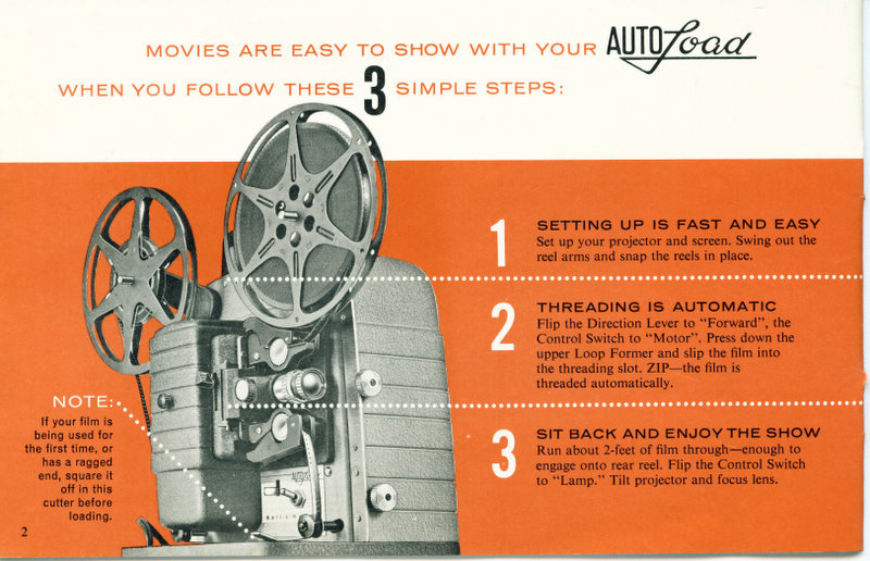 mondoFoto - Bell and Howell Autoload 8mm Projector