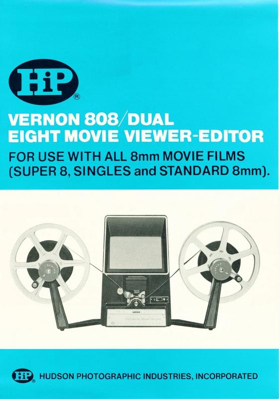 mondoFoto - Vernon 808 Dual Eight Movie Viewer-Editor
